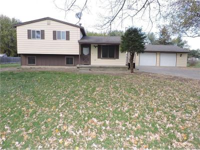 Mt. Morris Single Family Home For Sale: 6392 West Coldwater