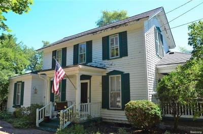 Flushing Single Family Home For Sale: 402 North McKinley