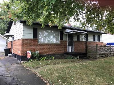 Mt. Morris Single Family Home For Sale: 3512 Beryl