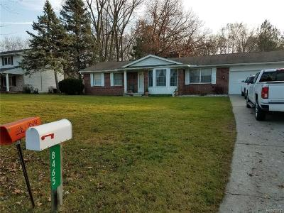 Flushing Single Family Home For Sale: 8465 Wesley