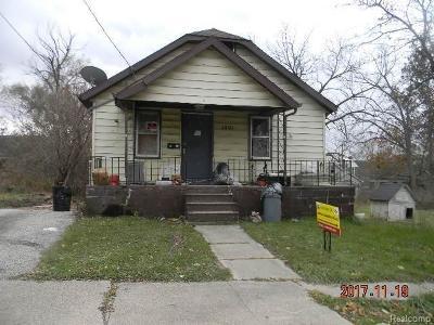 Flint Single Family Home For Sale: 1401 Wolcott
