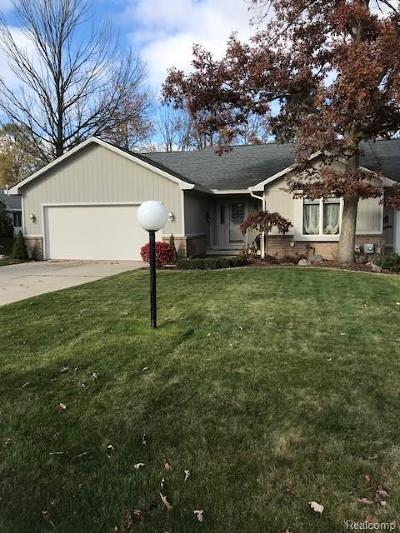 Mt. Morris Single Family Home For Sale: 5549 Hickory Circle