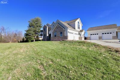Flint Single Family Home For Sale: 7471 Brewer Road