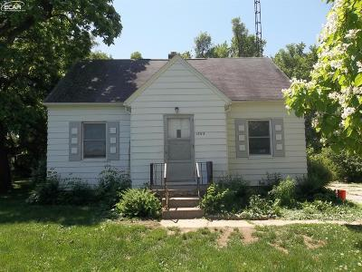 Mt. Morris Single Family Home For Sale: 1393 West Stanley Road