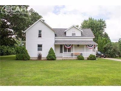 Mt. Morris Single Family Home For Sale: 6434 East Mt Morris Road