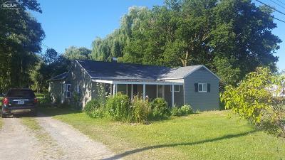 Mt. Morris Single Family Home For Sale: 5032 Scott Road