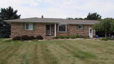 Mt. Morris Single Family Home For Sale: 8385 North Linden Road
