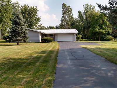 Mt. Morris Single Family Home For Sale: 5469 West Mount Morris Road