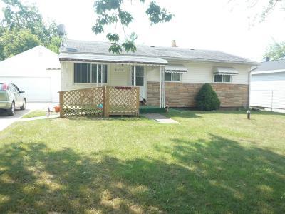 Mt. Morris Single Family Home For Sale: 8225 Rockwood Avenue