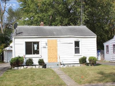 Flint Single Family Home For Sale: 2901 Winona Street