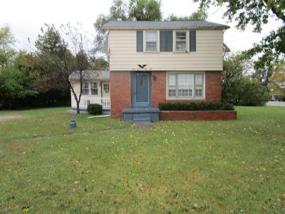 Flint Single Family Home For Sale: 6361 W Corunna Road