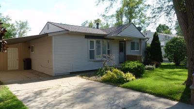 Mt. Morris Single Family Home For Sale: 1168 Harriet Street