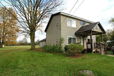 Mt. Morris Single Family Home For Sale: 1464 West Stanley Road