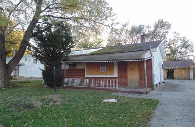 Mt. Morris MI Single Family Home For Sale: $5,500