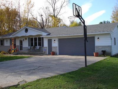Mt. Morris Single Family Home For Sale: 6451 North Webster Road