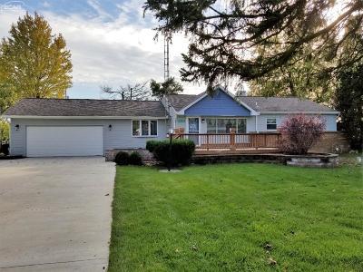 Flushing Single Family Home For Sale: 10189 Beecher Road