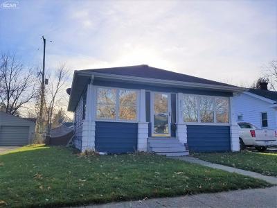 Flint Single Family Home For Sale: 2521 Tiffin Street