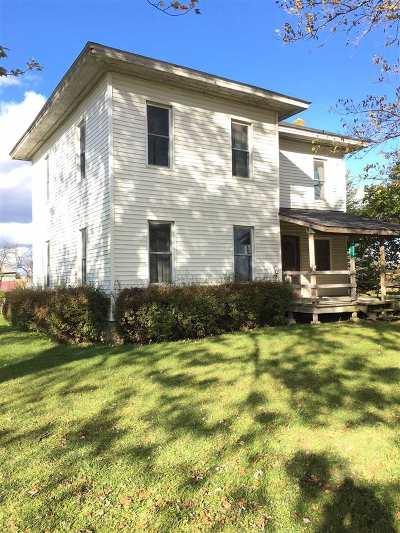 Clayton Single Family Home For Sale: 9024 W Carleton Rd