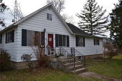 Flushing Single Family Home For Sale: 6267 W Coldwater Rd