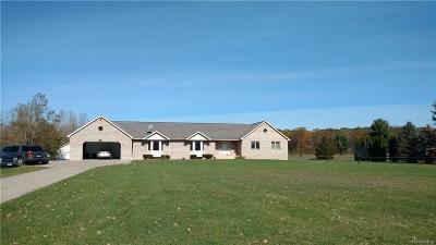 Flushing Single Family Home For Sale: 6386 Carpenter Rd E