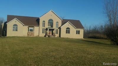 Flint Single Family Home For Sale: 4434 N Jennings Rd