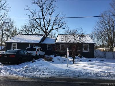 Flushing Single Family Home For Sale: 6489 N McKinley Rd