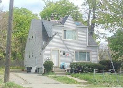 Flint Single Family Home For Sale: 2208 Dupont St