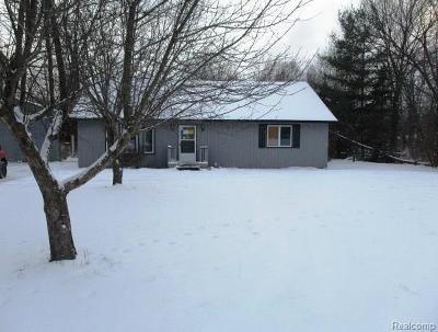Flushing Single Family Home For Sale: 7171 Stanley Rd