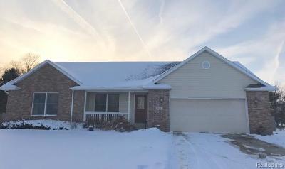 Flushing Single Family Home For Sale: 6544 Stonebrook Ln