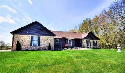 Flint Single Family Home For Sale: 1525 W Reid Rd