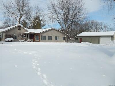 Flushing Single Family Home For Sale: 308 N Seymour Rd