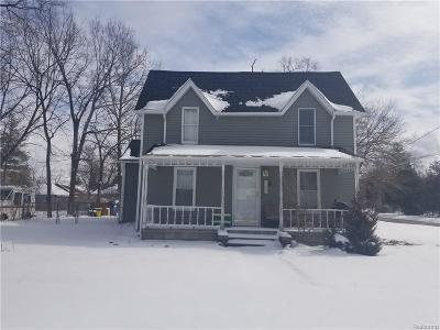 Montrose Single Family Home For Sale: 157 S Genesee St