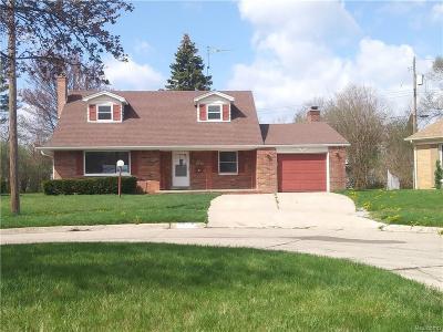 Flint Single Family Home For Sale: 3625 Fenwick Cir