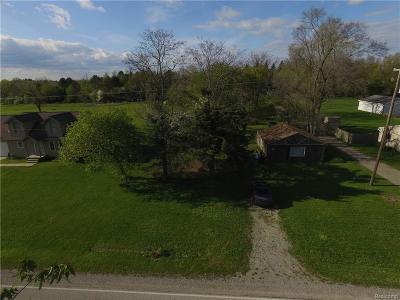 Flint Single Family Home For Sale: 3323 E Pierson Rd