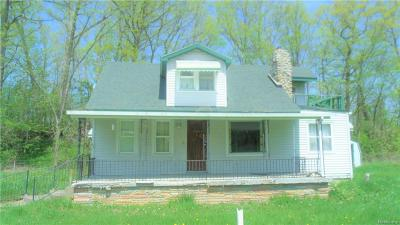 Flint Single Family Home For Sale: 5191 S Dort Hiwy