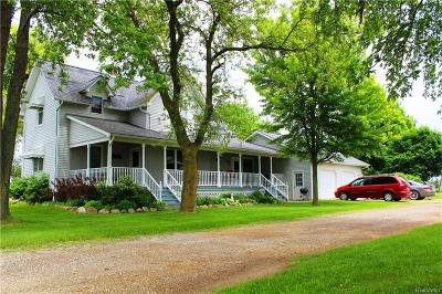 Flushing Single Family Home For Sale: 6458 Duffield Rd