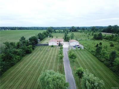 Flushing Single Family Home For Sale: 1390 N Seymour Rd