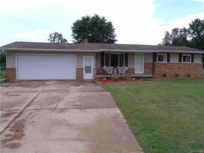 Flushing Single Family Home For Sale: 5020 N Elms Rd