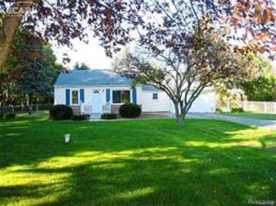 Flushing Single Family Home For Sale: 8112 Beecher Rd