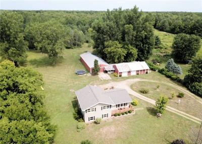 Montrose Single Family Home Contingent: 11392 Dodge Rd