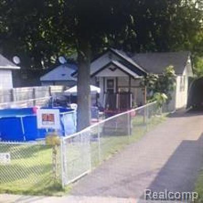 Flint Single Family Home For Sale: 1127 Stocker Ave