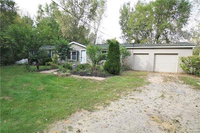 Flushing Single Family Home For Sale: 7052 Coldwater Rd