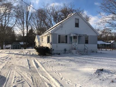 Flint Single Family Home For Sale: 6075 N Genesee Rd