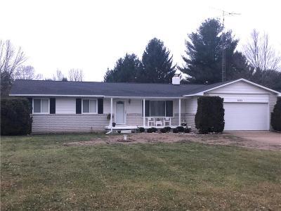 Flushing Single Family Home For Sale: 8333 N McKinley Rd
