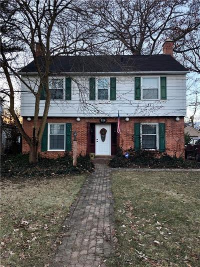 Flint Single Family Home For Sale: 526 S Franklin Ave