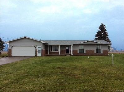 Flushing Single Family Home For Sale: 9105 Beecher Rd