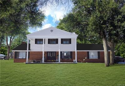 Flushing Single Family Home For Sale: 8467 Apple Blossom Ln