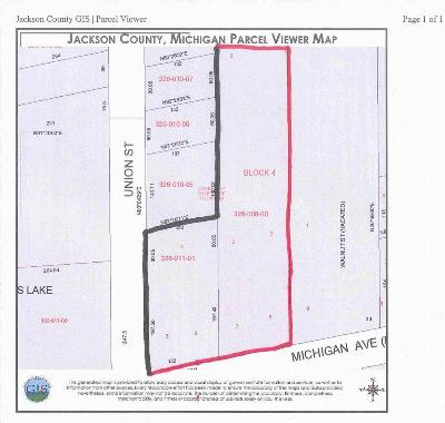 Jackson County Commercial Lots & Land For Sale: 716 E Michigan Ave