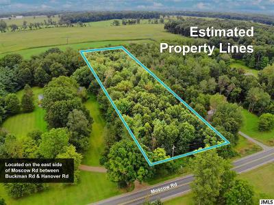 Jackson County Residential Lots & Land For Sale: Moscow Rd