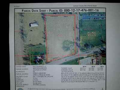 Spring Arbor Commercial Lots & Land For Sale: Spring Arbor Rd